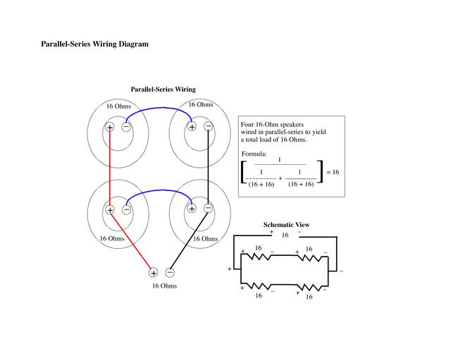 Friedman 4x12 Wiring - Still Parallel-Series? | Rig-TalkRig-Talk